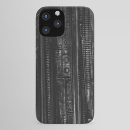 H.R.  Giger Texture iPhone Case