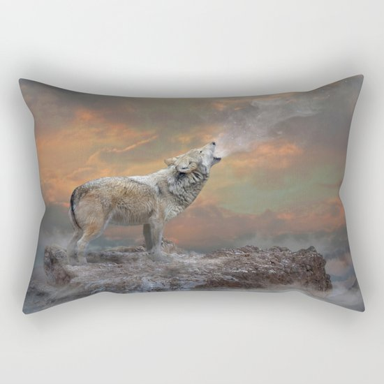 Climb Mountains Not So the World Can See Rectangular Pillow