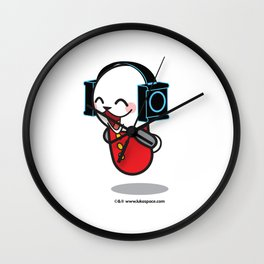 Luka Space Waiting Wall Clock