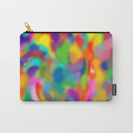 """Rainbow """"Watercolor"""" Carry-All Pouch"""