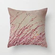 twigs Throw Pillow