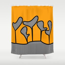 Planters Shower Curtain