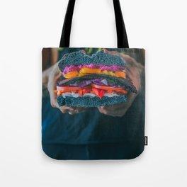 Black LT Sandwich Tote Bag
