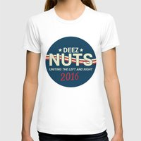 political T-shirts featuring Deez Nuts Political Parody ad by MeanGreenRMF