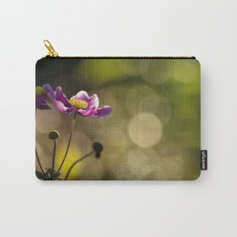 Pink Cosmos Flower Carry-All Pouch