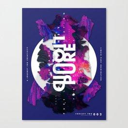 Pure Liquid Imagination : Concept 2 Canvas Print