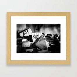buy buy Framed Art Print
