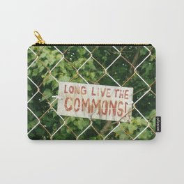 Long Live The Commons! Carry-All Pouch