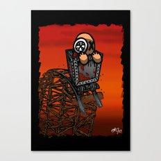 Le parcours de la mine Canvas Print