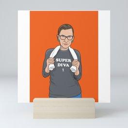 superdiva Mini Art Print