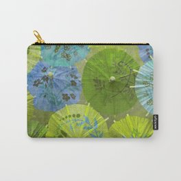 Parasols Blueberry Lime Carry-All Pouch