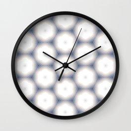 Sakura Hex by Friztin Wall Clock