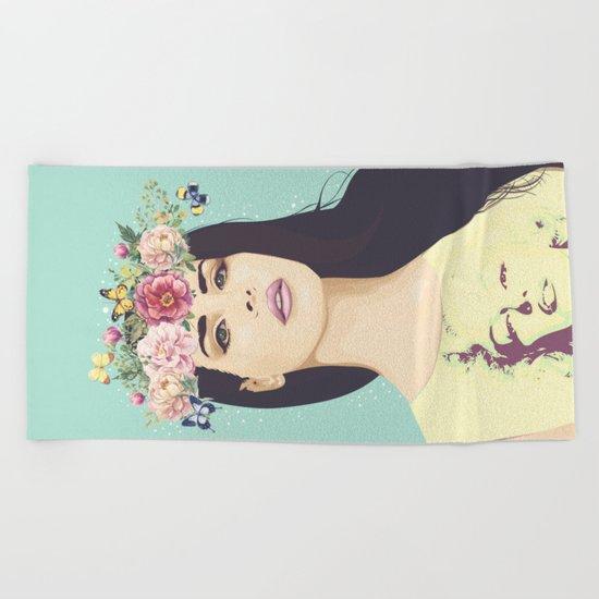 Hipster Queen Beach Towel