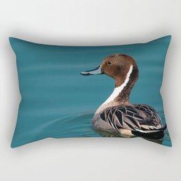 Bird - Northern Pintail Rectangular Pillow