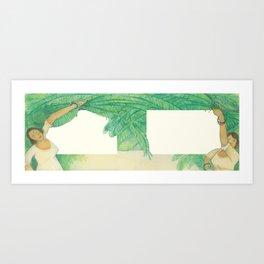 A la Víbora de la Mar Art Print