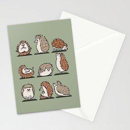 Hedgehog Yoga Stationery Cards