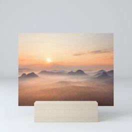 Valley of Light Mini Art Print
