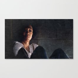 Sasha In Her Final Resting Place - The Walking Dead Canvas Print