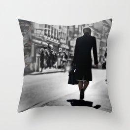madame de bale Throw Pillow