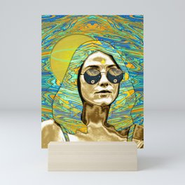 Flower of Light Mini Art Print