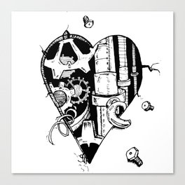 The Broken Hearted Canvas Print