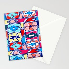 Ndebele Pattern - Pantone Spring Summer 2020 Stationery Cards