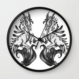 A Majestic Kelpie Wall Clock
