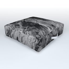 Marbled Paper Outdoor Floor Cushion
