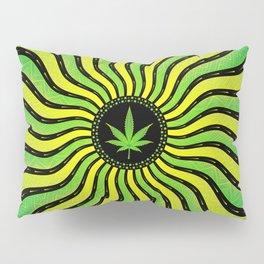 Marijuana energy | Sacred geometry mandala Pillow Sham