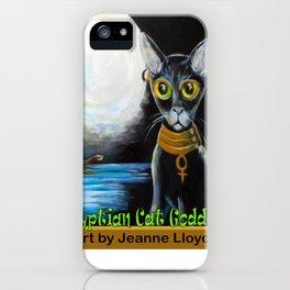 Egyptian Cat Goddess iPhone Case