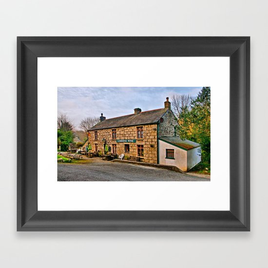 The Lamorna Wink Framed Art Print