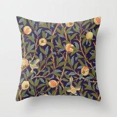 William Morris Bird And Pomegranate Throw Pillow