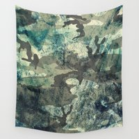 woodland Wall Tapestries featuring Woodland by Sander Smit