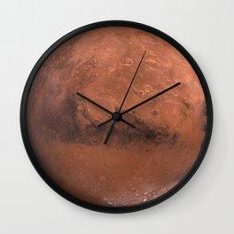 Schiaparelli Hemisphere, Mars Wall Clock