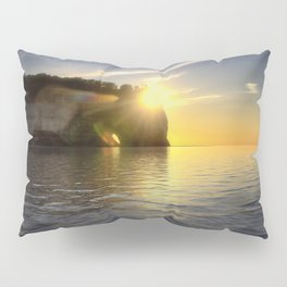 Pictured Rocks Sunset Pillow Sham