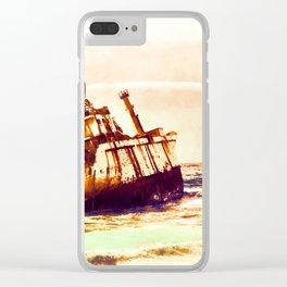shipwreck aqrels Clear iPhone Case