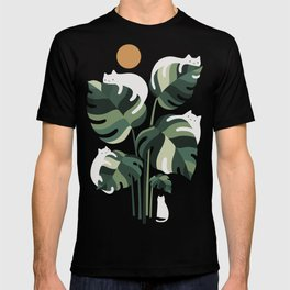 Cat and Plant 11 T-shirt