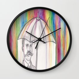 "NYTI ""NOTED"" Wall Clock"