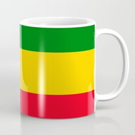 Rastafarian Colors Coffee Mug