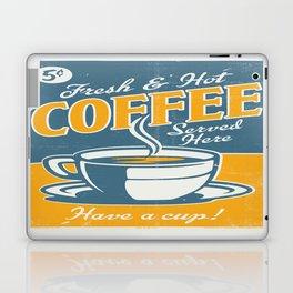 Vintage poster- Coffee Laptop & iPad Skin
