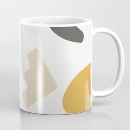 Abstract Shape Series - Autumn Color Study Coffee Mug