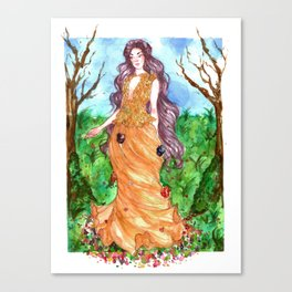 Spring is comming - Persephone Canvas Print