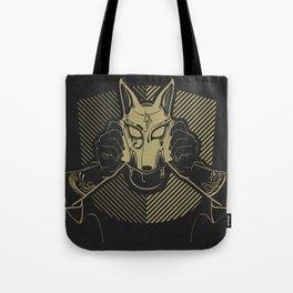 Dog Costume Art Tote Bag