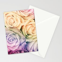 Some people grumble - Colorful Roses - Rose pattern Stationery Cards
