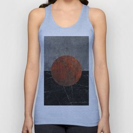 Abstract - Marble, Concrete, and Rusted Iron II Unisex Tank Top