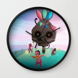 Summoning Wall Clock