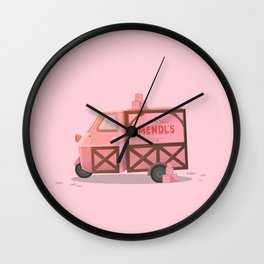 Mendl's Van Wall Clock