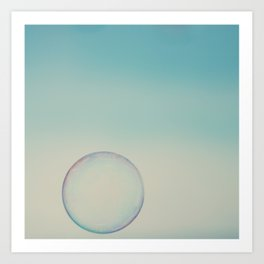 bubble 4 ... Art Print
