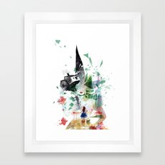 Not in Kansas Anymore v2 Framed Art Print