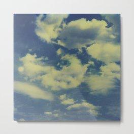 Instant Series: Clouds II Metal Print
